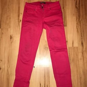 Paige Skinny Jeans Sz 27 in Pink